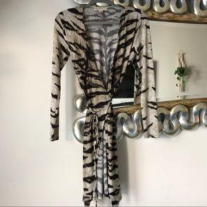 Michael Kors wrap dress.